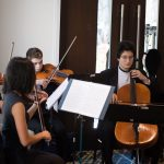 Photo of McLean High School String Quartet Performing