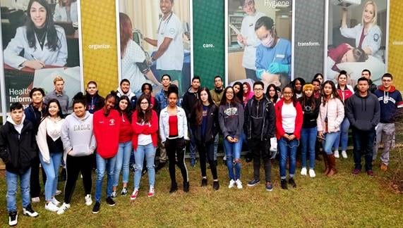 Annandale HS field trip to NOVA Medical Campus