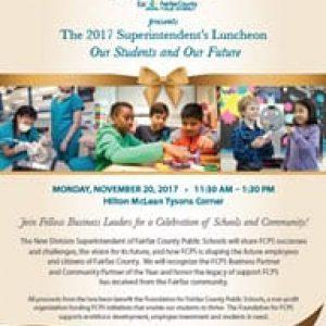 Image of Superintendent's Luncheon Flyer